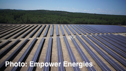 Empower Energies PV Solar Project - Town of Shirley - Aerial View 03
