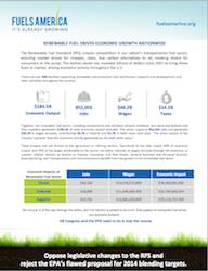 Fuels America Economic report