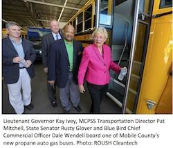 MCPSS Propane Autogas school bus