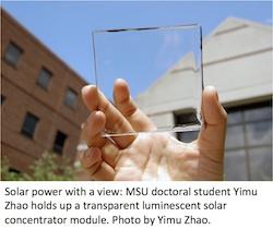 MSU Solar Concentrator Module