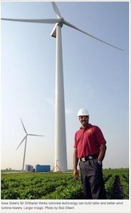 ISU taller wind tower research