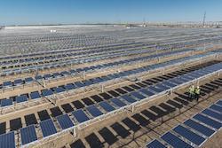 OCI Solar Power Alamo 4 Solar Farm