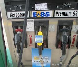 Three Brothers Car Repair E85 pump