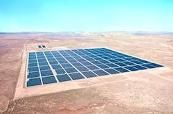 Desert Solar Aerial