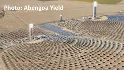 Abengoa Yield Solana solar field