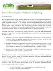 Advanced Biofuels USA Biomass Crops white paper