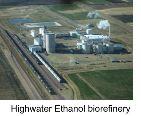 Highwater Ethanol Aerial Photos