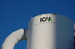 ICM tank at Patriot Renewable Fuels Biorefinery