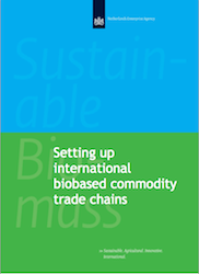 Setting Up International Biobased Production Chains