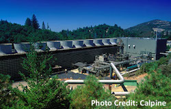 The Geyers geothermal power plant