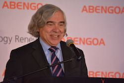 US Energy Secretary Ernst Moniz