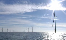 West of Duddon Sands offshore wind farm