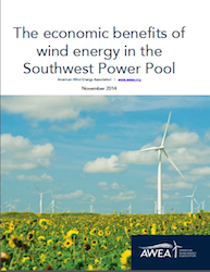 AWEA Report- economic benefits of wind energy in SPP