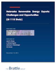 Nebraska Renewable Energy Exports Report
