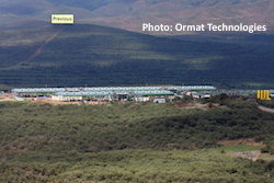 Ormat - Kenya Geothermal Plant