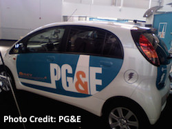 PG&E Electric Vehicle