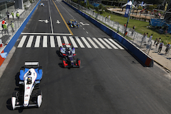 Formula E racing series in Buenos Aires
