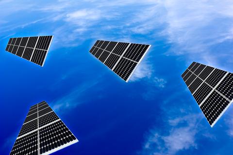 flying solar panels