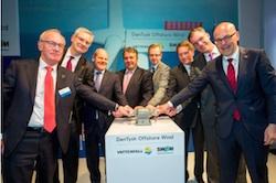 DanTysk Offshore Wind official launch