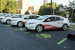 Georgia Power rolls out new fleet of EVs. (PRNewsFoto/Georgia Power)