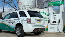 Air Products' SmartFuel H70/H35 retail hydrogen dispenser provides the newest generation of hydrogen dispensing to meet consumer expectations of refilling fuel cell vehicles in a safe, fast and reliable manner.