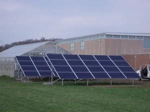 This 10 kW ground-mount at @PLHSKAWS features 40 @SolarWorldUSA panels and @IronRidge racks in Perry, KS. #KSSolar  Photo Credit: Cromwell Solar