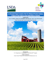 Economic Impact of Biobased Products USDA report