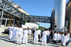 Novozymes' biofuels enzyme facility in Blair, Nebraska hosted a RFS rally on Friday, July 24, 2015 in support of renewable fuels.
