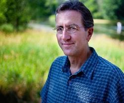 Michigan State University; (R) Stephen Hamilton, professor of ecosystem ecology at Michigan State University and GLBRC researcher. Photo by John W. Poole, NPR.
