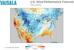 Vaisala Q4 Wind Predictions