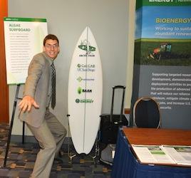 algae surfboard