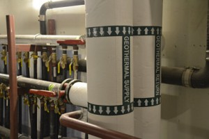 Geothermal Energy system installed at Trevor Day School in New York City. The clean energy technology is providing both energy savings and STEAM education for students. Photo Credit: Trevor Day School