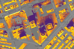 Project Sunroof computes how much sunlight hits your roof in a year in part using Google Map technology.