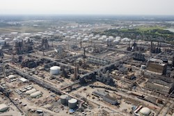 BP refinery in Whiting, Indiana. Photo Credit: GasBuddy.com