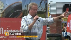 Jim Webb at Presidential Soapbox