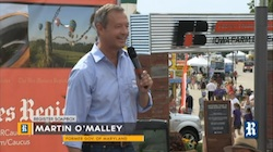 Martin O'Malley at Presidential Soapbox