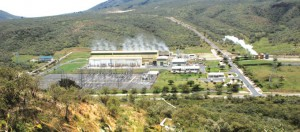 Oklaria Geothermal Plant in Kenya.