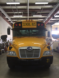DeKalb Central United Schools, DeKalb County's largest school district, will replace 12-year-old diesel buses with new Blue Bird Propane Vision buses