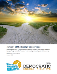 Hawaii at the Energy Crossroads
