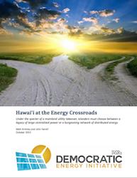 Hawaii at the Energy Crossroads