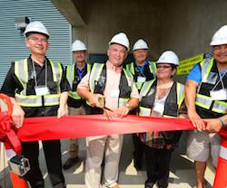 Waneta Expansion Grand Opening Ribbon Cutting.