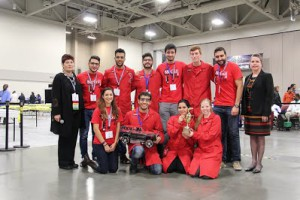 First place winner (tie) in the Chem-E-Car Competition McGill University.