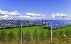 © Martinlisner | Dreamstime.com - Solar Energy Panels With Blue Sky Photo