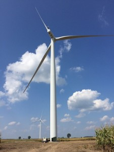 Amazon Wind Farm turbine