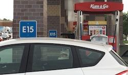 E15 at the pump