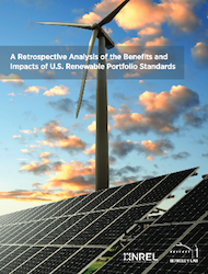 RPS report from NREL