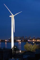 Wind Turbine in Washington DC