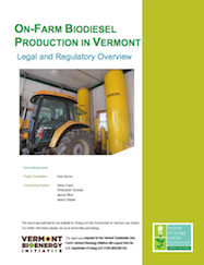 On Farm Biodiesel Production in Vermont