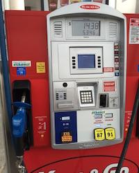 E15 pump in Iowa. Photo Credit: Joanna Schroeder