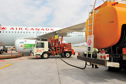 Air Canada's first biojet fueled flight